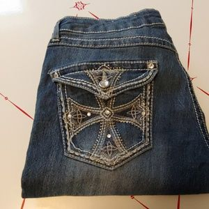 Blingy bootcut Mudd jeans 17